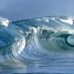 Реки в море